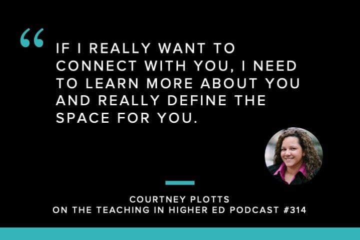 Courtney Plotts Quote from TIHE podcast
